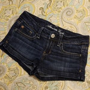 American Eagle Sz 0 Denim Shorts EUC